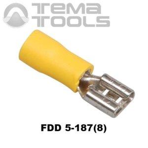 Плоский коннектор FDD 5-187(8) мама