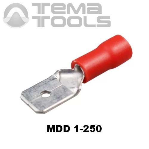 Плоский коннектор MDD 1-250 папа