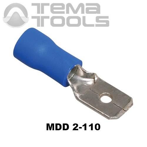 Плоский коннектор MDD 2-110 папа