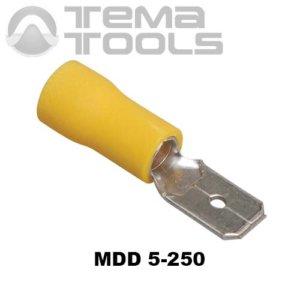 Плоский коннектор MDD 5-250 папа