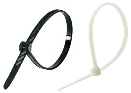 Уличные черные и белые для помещений кабельные стяжки