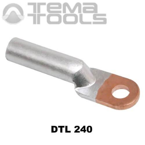 Кабельный наконечник медно-алюминиевый DTL 240