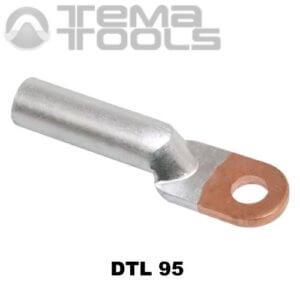 Кабельный наконечник медно-алюминиевый DTL 95