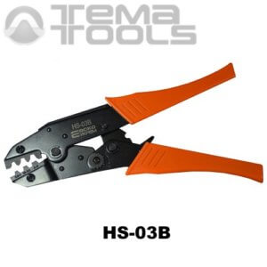 Инструмент опрессовочный HS-03B (0.5-6 мм²) ручной для разрезных наконечников