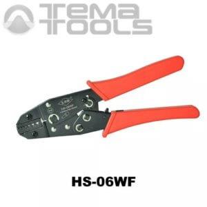 Инструмент опрессовочный HS-06WF (0.5-6 мм²) ручной для втулочных (трубчатых) наконечников