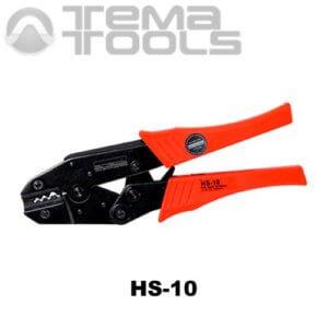 Инструмент опрессовочный HS-10 (1.5-6 мм²) ручной для наконечников без изоляции