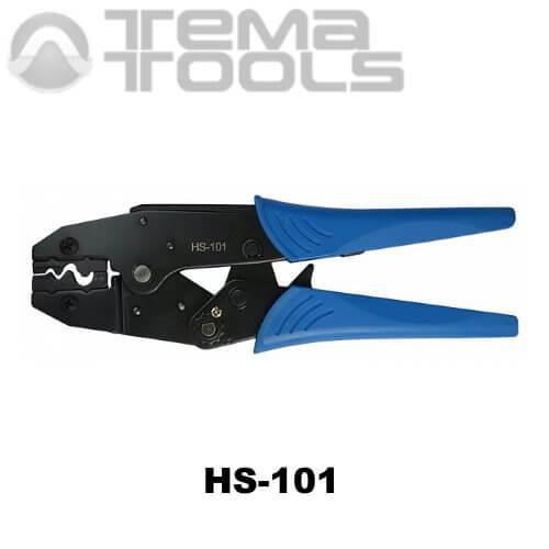 Инструмент опрессовочный HS-101 (1-10 мм²) ручной для наконечников без изоляции