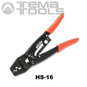 Инструмент опрессовочный HS-16 (0.5-16 мм²) ручной для неизолированных наконечников