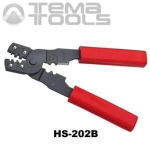 Многофункциональный опрессовочный инструмент HS-202B для разрезных наконечников DJ