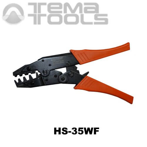 Инструмент опрессовочный HS-35WF (10-35 мм²) ручной для втулочных (трубчатых) наконечников