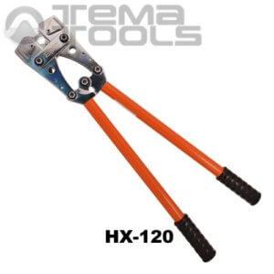 Ручной обжимной инструмент для наконечников HX-120 (6-120 мм²) механический