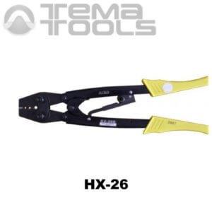 Ручной обжимной инструмент для наконечников HX-26 (6-25 мм²) механический
