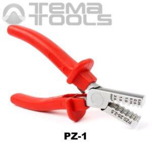 Инструмент опрессовочный PZ-1 (0.25-2.5 мм²) ручной для втулочных (трубчатых) наконечников