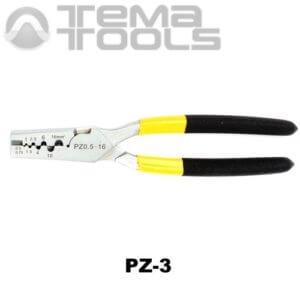 Инструмент опрессовочный PZ-3 (0.5-16 мм²) ручной для втулочных (трубчатых) наконечников