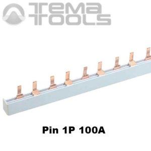 Шина соединительная Pin 1P 100А 1м