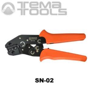 Инструмент опрессовочный SN-02 (0.14-2.5 мм²) ручной для втулочных (трубчатых) наконечников