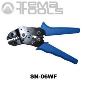 Инструмент опрессовочный SN-06WF (0.5-6 мм²) ручной для втулочных (трубчатых) наконечников