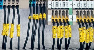 Маркировка кабелей с помощью специального комплекта