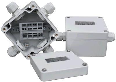 Распределительная коробка с кабельными вводами