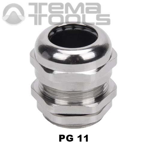 Кабельный ввод металлический PG11