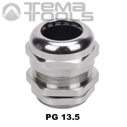 Кабельный ввод металлический PG 13.5