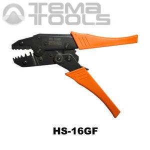 Инструмент для опрессовки HS-16GF (4-16 мм²) втулочных наконечников