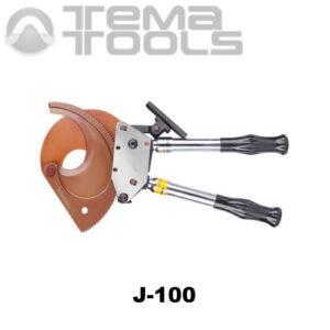 Инструмент J-100 для резки кабеля сечением до 3x300 мм²
