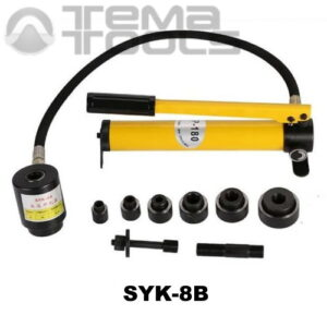 Ручной пресс гидравлический SYK-8В (22; 27,5; 34; 43; 49; 60 мм) для пробивки отверстий в металле