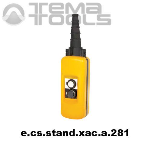 Тельферный пост двухкнопочный 2NO + 2NC IP65 e.cs.stand.xac.a.281