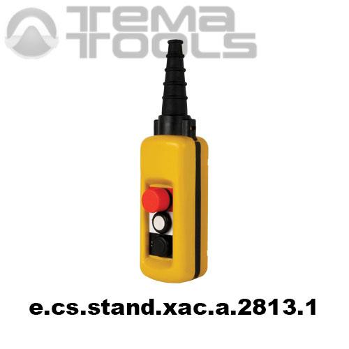 Тельферный пост двухкнопочный 2NO + 3NC IP65 e.cs.stand.xac.a.2813.1