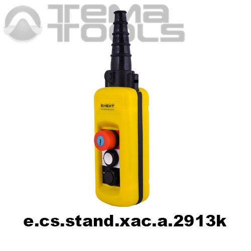 Тельферный пост двухкнопочный 4NO + 3NC IP65 e.cs.stand.xac.a.2913k