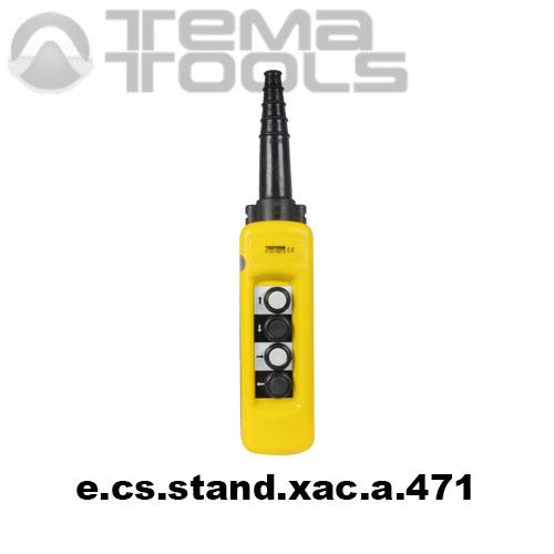 Тельферный пост четырехкнопочный 4NO IP65 e.cs.stand.xac.a.471