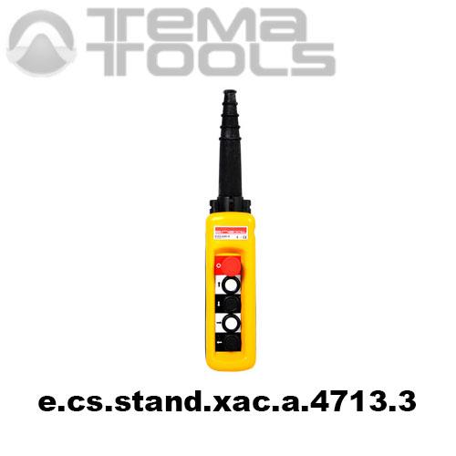 Тельферный пост четырехкнопочный 4NO + 1NC IP65 e.cs.stand.xac.a.4713.3