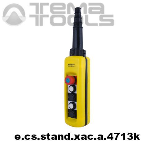 Тельферный пост четырехкнопочный 4NO + 1NC IP65 e.cs.stand.xac.a.4713k