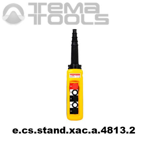 Тельферный пост четырехкнопочный 4NO + 5NC IP65 e.cs.stand.xac.a.4813.2