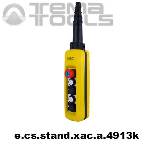 Тельферный пост четырехкнопочный 8NO + 5NC IP65 e.cs.stand.xac.a.4913k