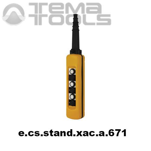 Тельферный пост шестикнопочный 6NO IP65 e.cs.stand.xac.a.671