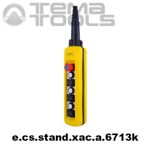 Тельферный пост шестикнопочный 6NO + 1NC IP65 e.cs.stand.xac.a.6713k