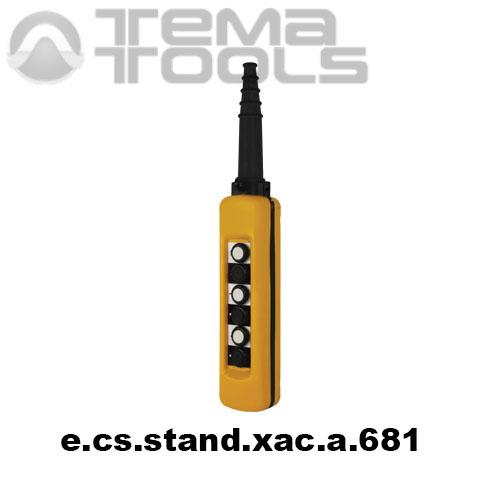 Тельферный пост шестикнопочный 6NO + 6NC IP65 e.cs.stand.xac.a.681