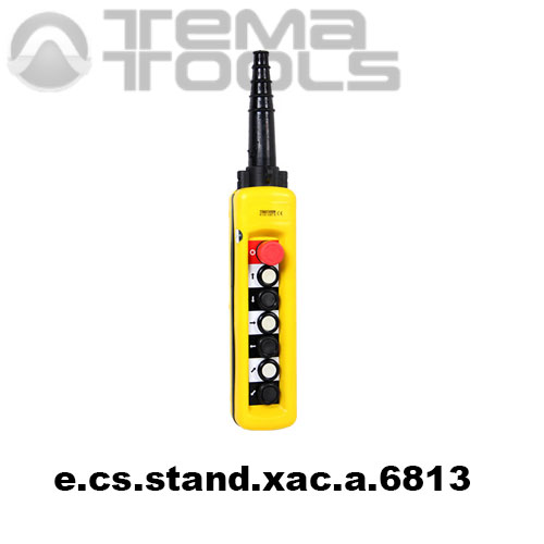 Тельферный пост шестикнопочный 6NO + 7NC IP65 e.cs.stand.xac.a.6813
