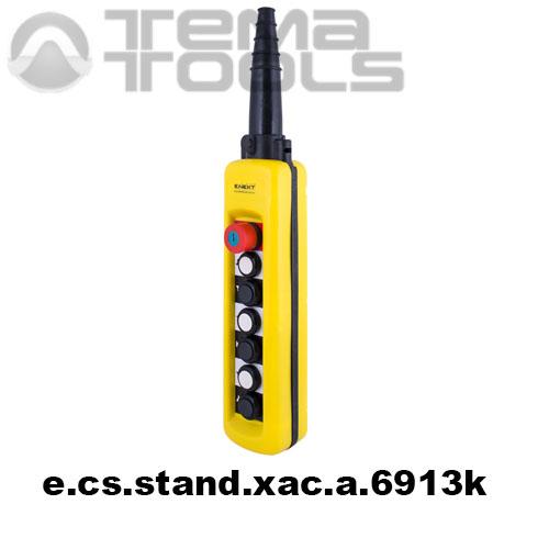 Тельферный пост шестикнопочный 12NO + 7NC IP65 e.cs.stand.xac.a.6913k