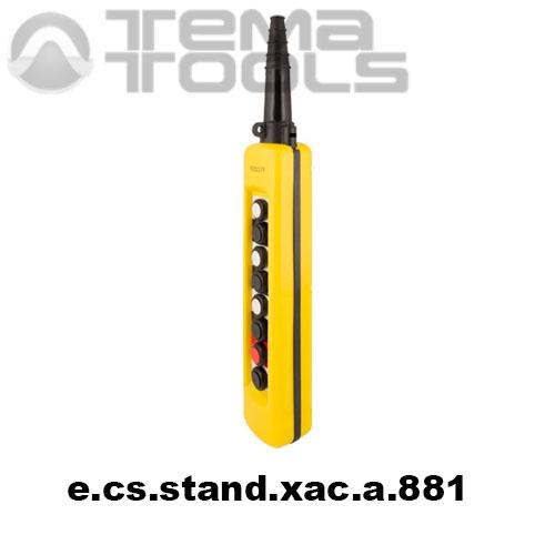 Тельферный пост восьмикнопочный 7NO + 8NC IP65 e.cs.stand.xac.a.881