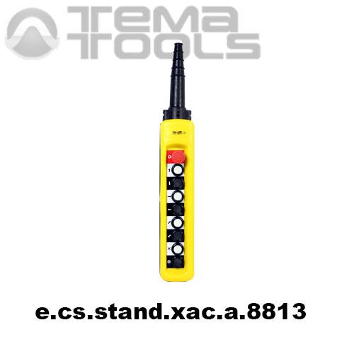 Тельферный пост восьмикнопочный 8NO + 9NC IP65 e.cs.stand.xac.a.8813